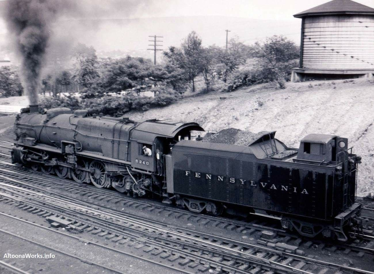 20+ Prr Steam Locomotive In Color Pictures and Ideas on Weric