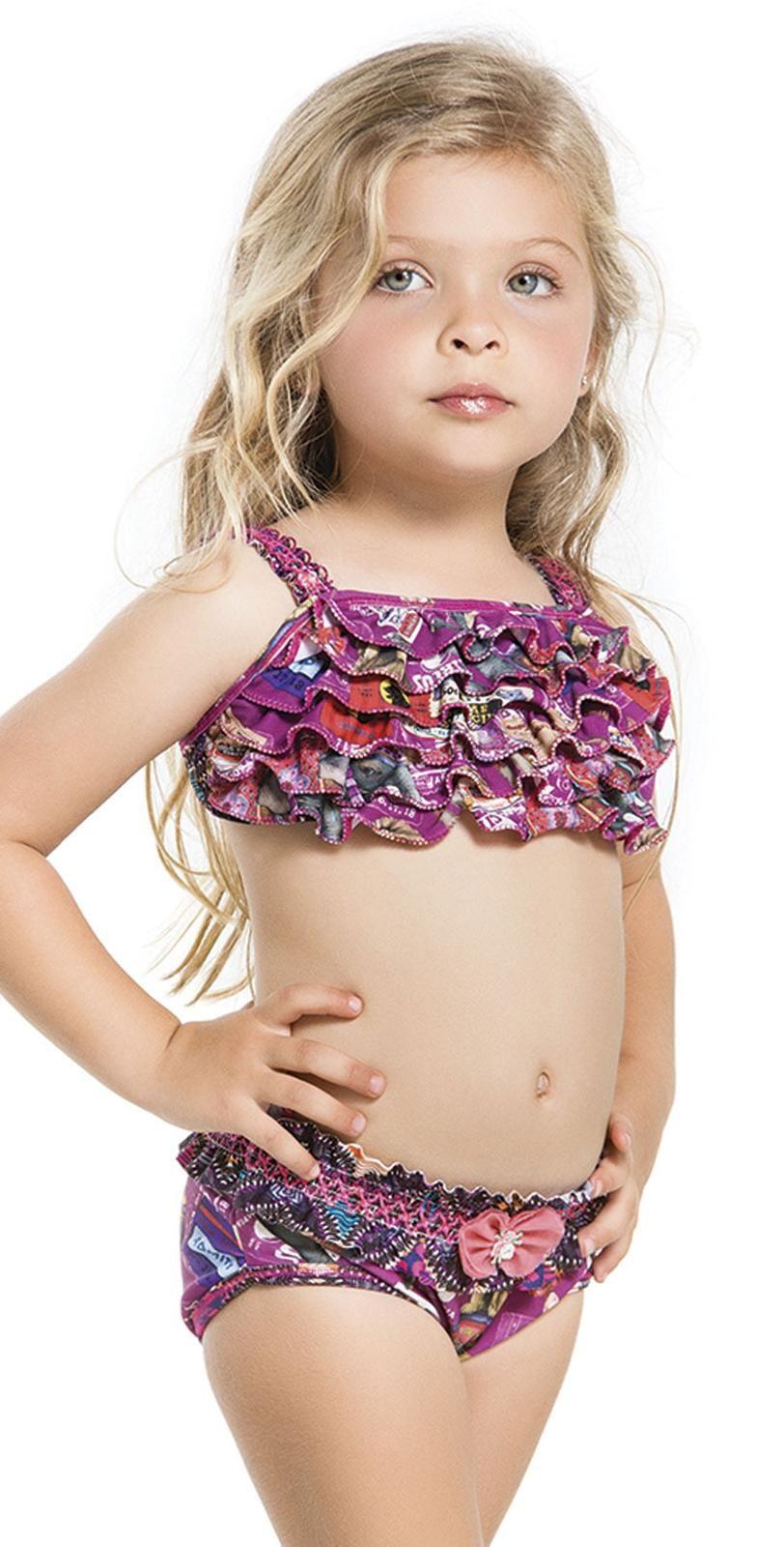 Little Girls Bikini | Kids Girls Swimsuits ☀ | Pinterest