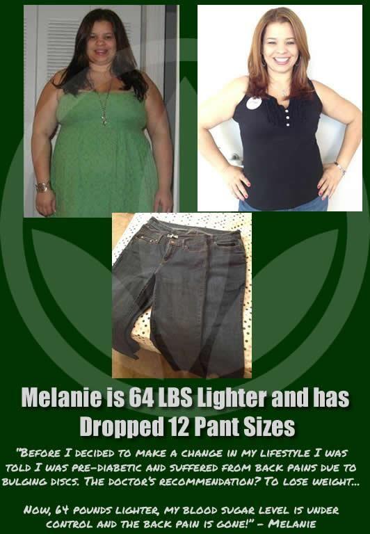 This is my friend Melanie\u0027s Herbalife success story Inspiration