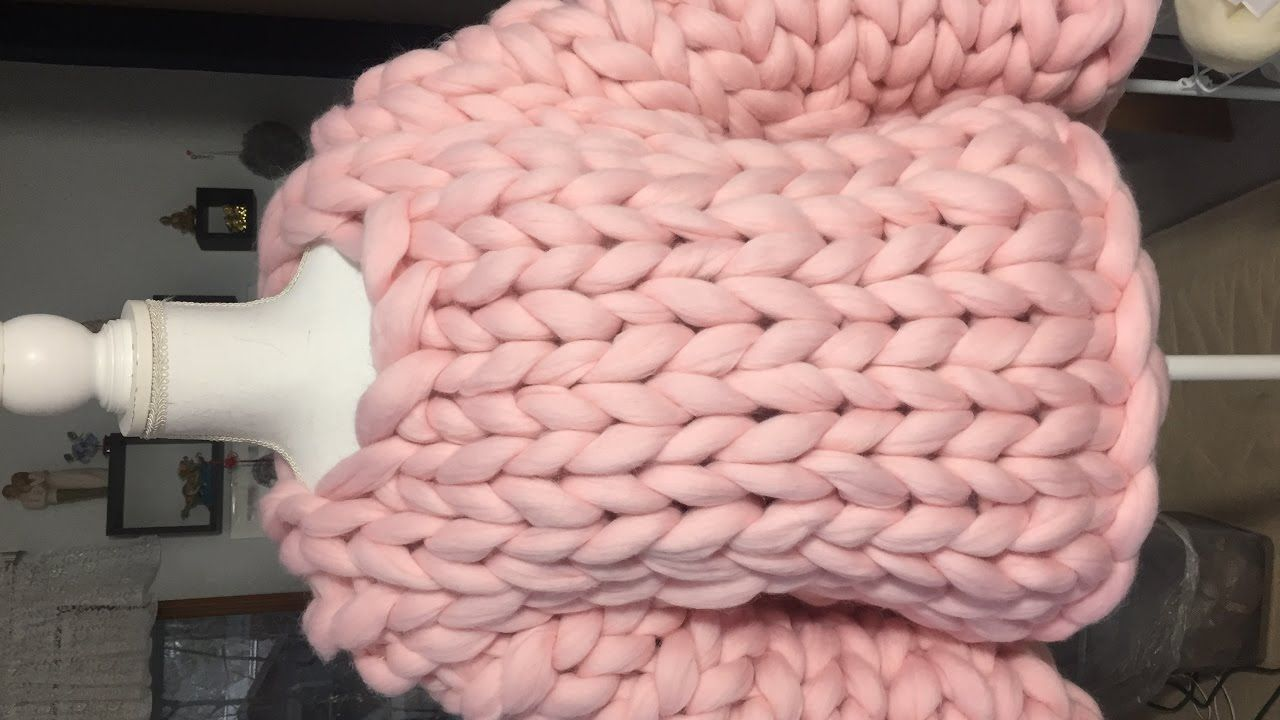 c34583bea60d93 How to hand knit a super chunky sweater with BeCozi