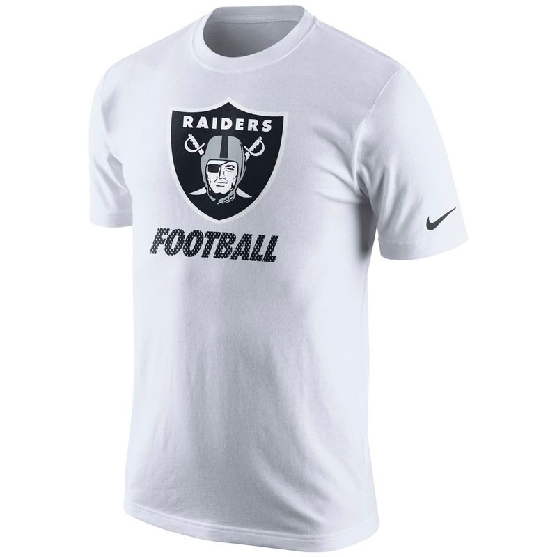 Oakland Raiders Nike Facility T-Shirt - White  9251b52d4