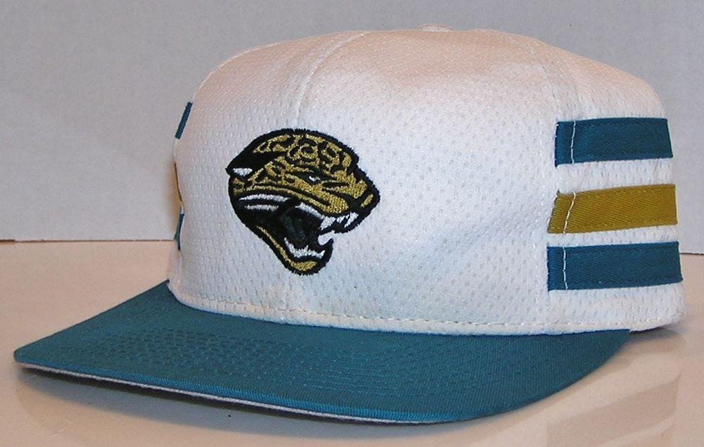 Jacksonville Jaguars Vintage 90 s Game Day 3 Stripes NFL Football Snapback  Hat  GameDay  JacksonvilleJaguars d78b41c6b5f