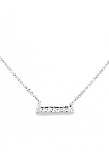 Free Shipping And Returns On Dana Rebecca Designs Sylvie Rose Diamond Bar Pendant Necklace