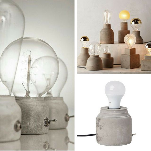 #GettheLook of these blood&champagne #concrete #lamps with the #Living & Co Gus #Table #Lamp for $30 from @thewarehousenz #thewarehousenzhacks #furniture #NewZealand  #thewarehousenz #interiors #house #styling #style #hacks #shopthetrend Prices listed to the best of my ability.