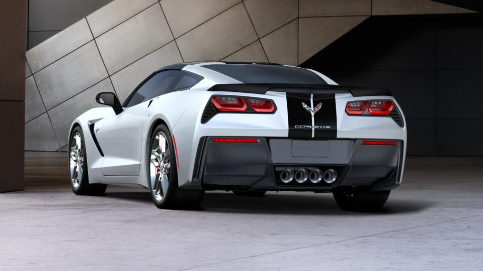 The Backside View Corvette Stingray Corvette Corvette