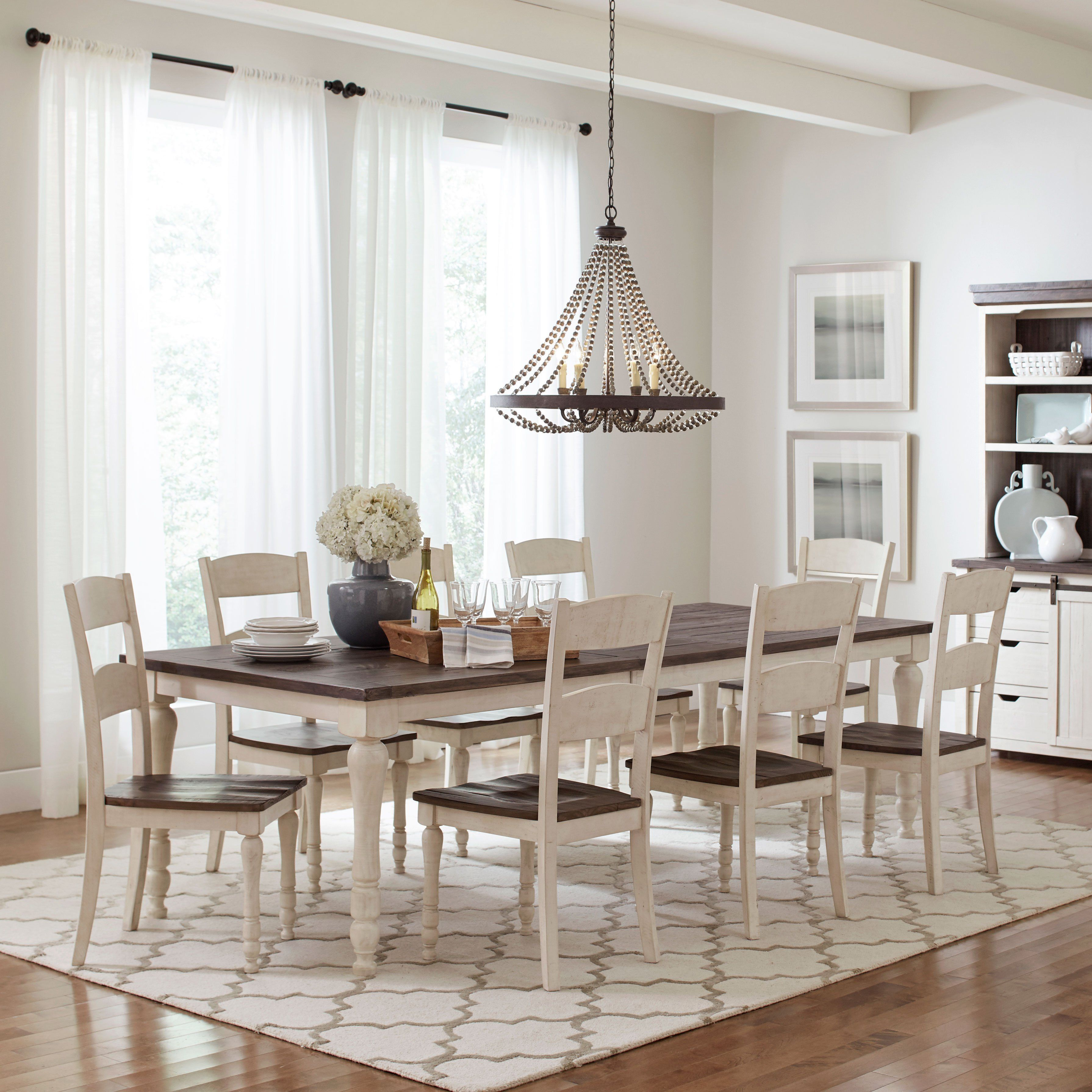 24++ White vintage dining table Top