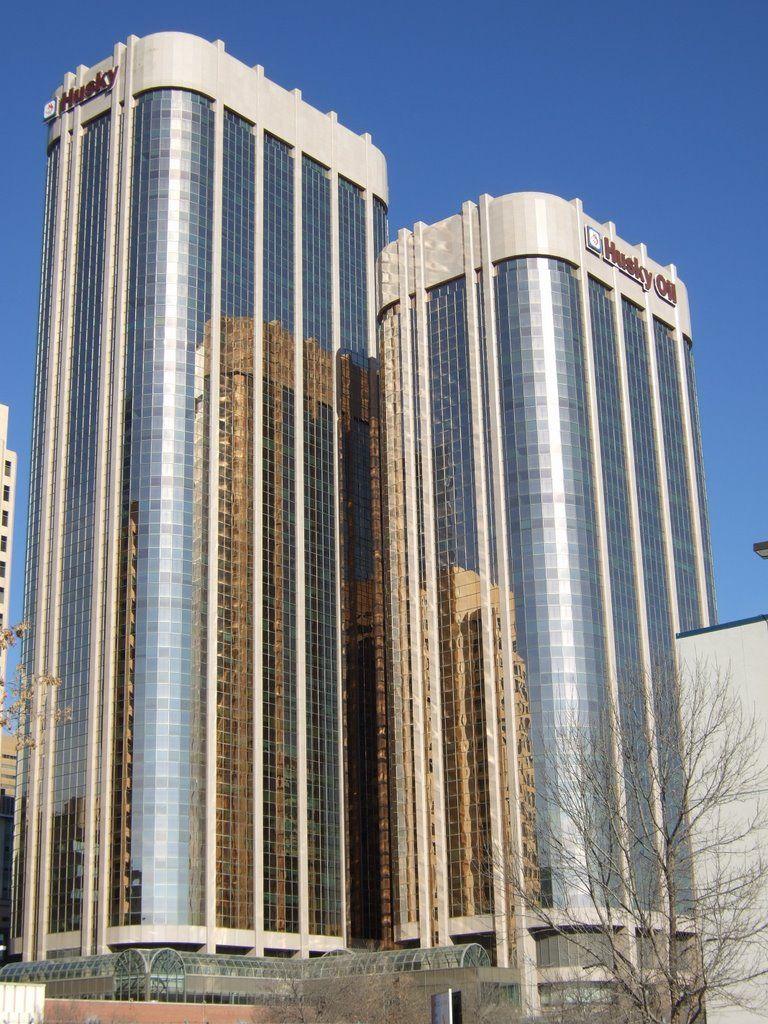 Panoramio Photo Of Husky Towers Calgary Ab Vacation Time Calgary Alberta Architecture