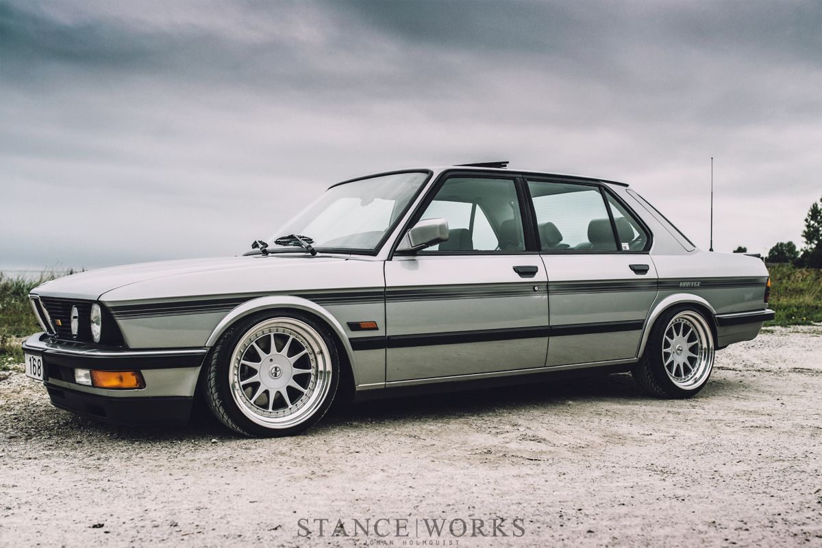 Bmw As It U2019s Supposed To Be  Hartge 1987 535i  Photo