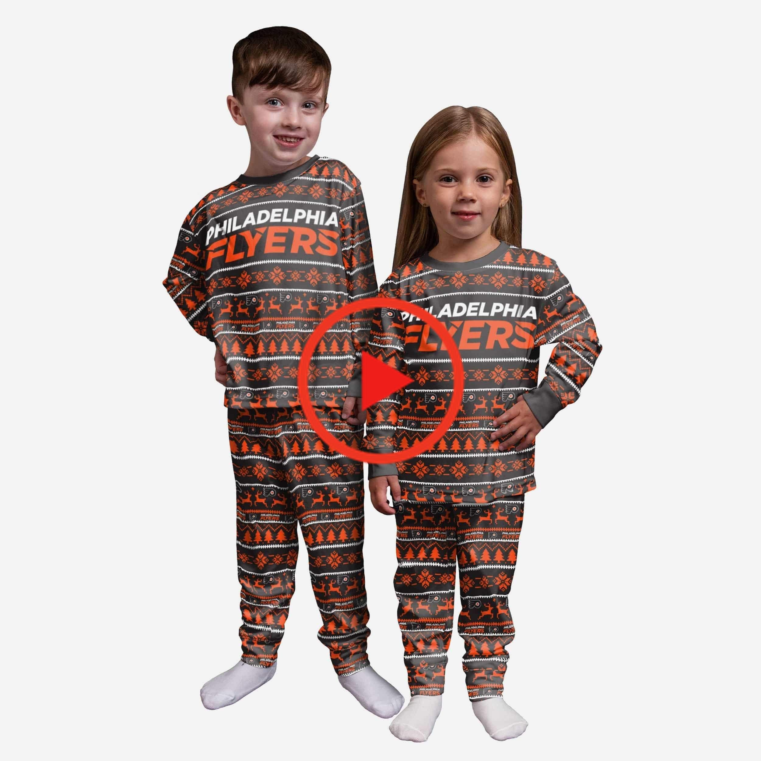 Philadelphia Flyers Peuter Family Holiday Pajamas in 2020