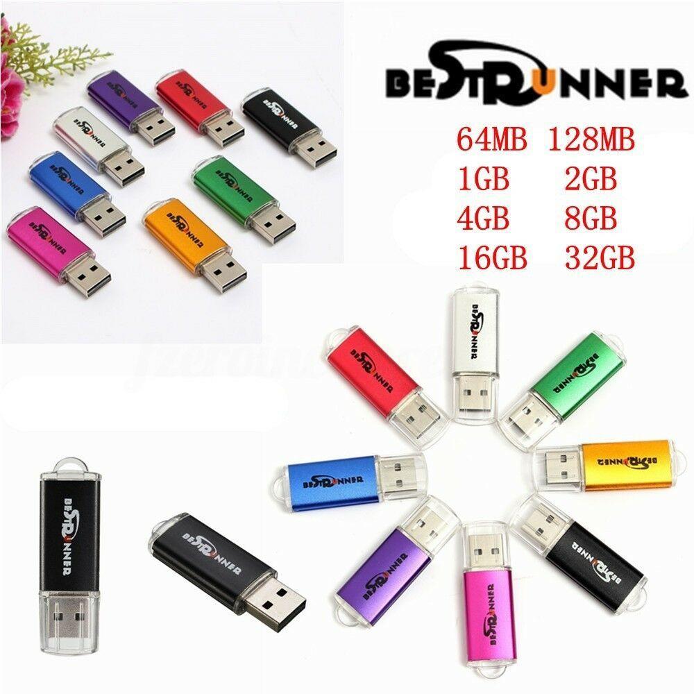 64MB 32MB USB 2.0 Flash Memory Stick Thumb Drive PC LAP TOP Storage
