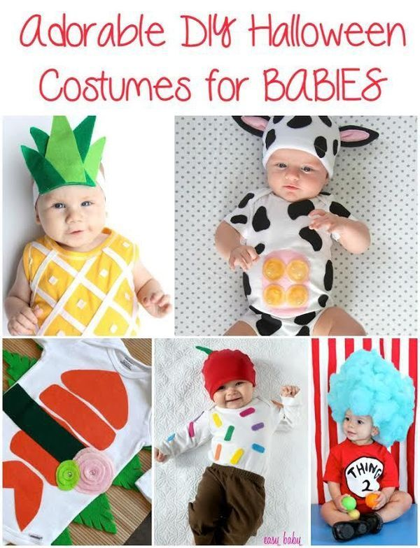 Adorable DIY Costume Ideas for Babies Pinterest Diy costumes - halloween costume ideas for infants