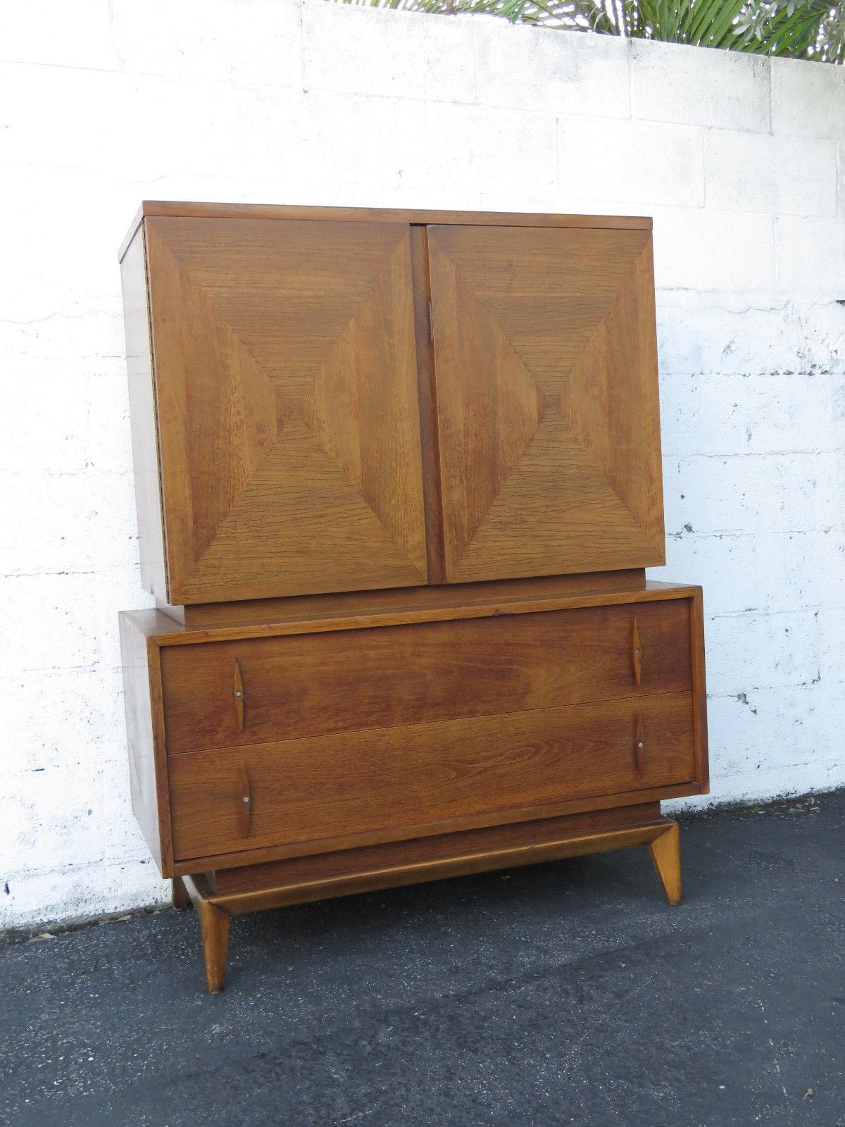 Mid century modern tall chest of drawers modern chest of