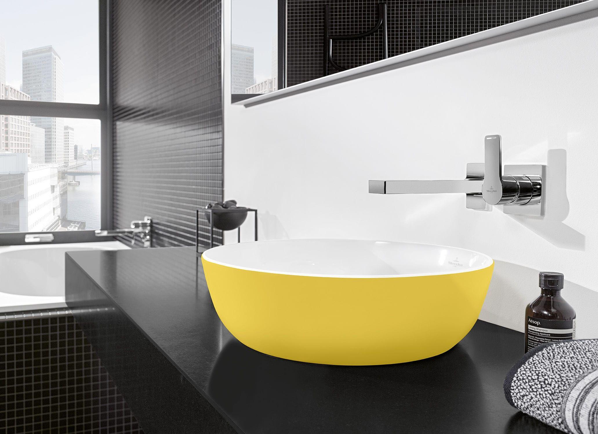 Aufsatz Waschbecken Oval Aus Keramik Modern Artis Villeroy