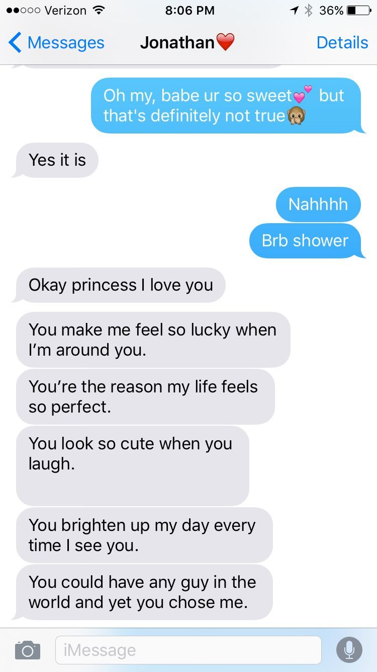 Texts from my baby ️I love him. Cute, relationship goals ...