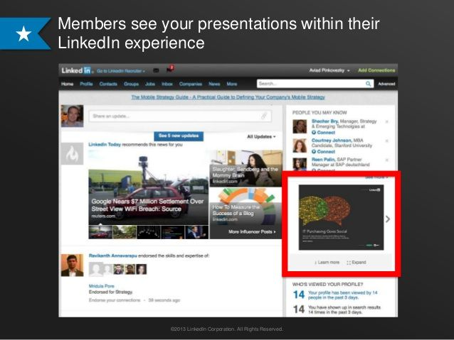 LinkedIn pitches SlideShare as advertising | Technology