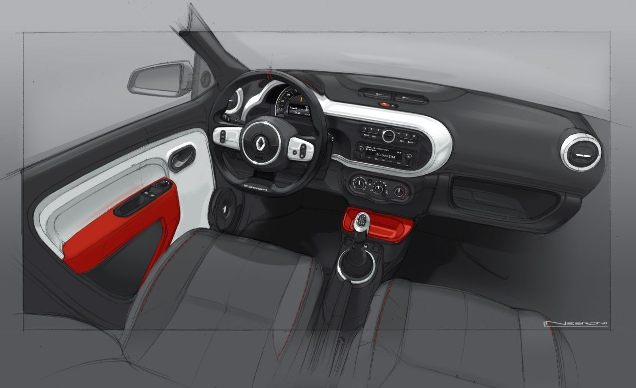 Relive the #design birth of #NewTwingo ! (c) Droits réservés ...