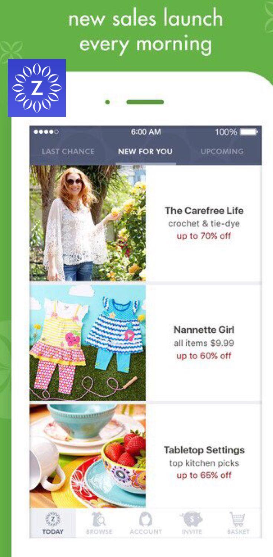 zulily Shop Deals for Women, Kids, Babies & Home on the