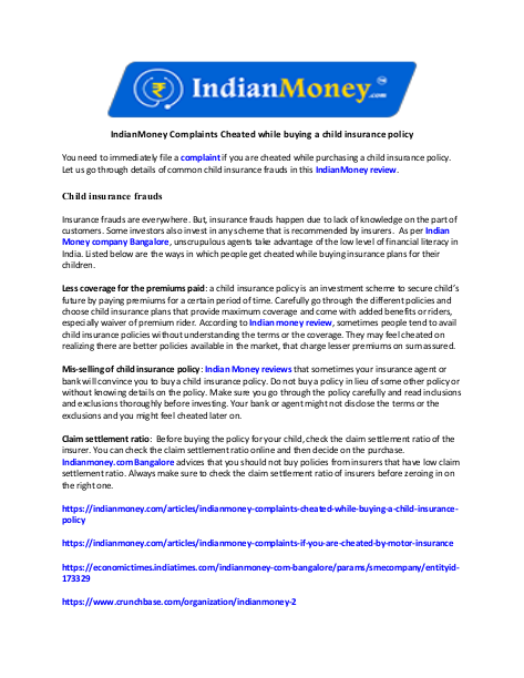 Pin By Nikitha G On Indian Money With Images Cheating Insurance Policy Complaints