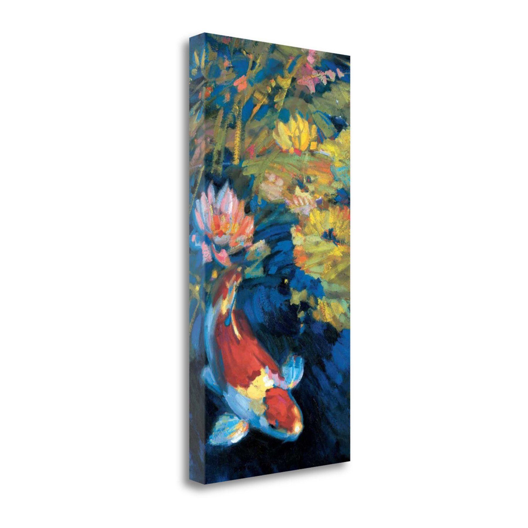Tangletown Fine Art Asian Serenity I Canvas Wall Art
