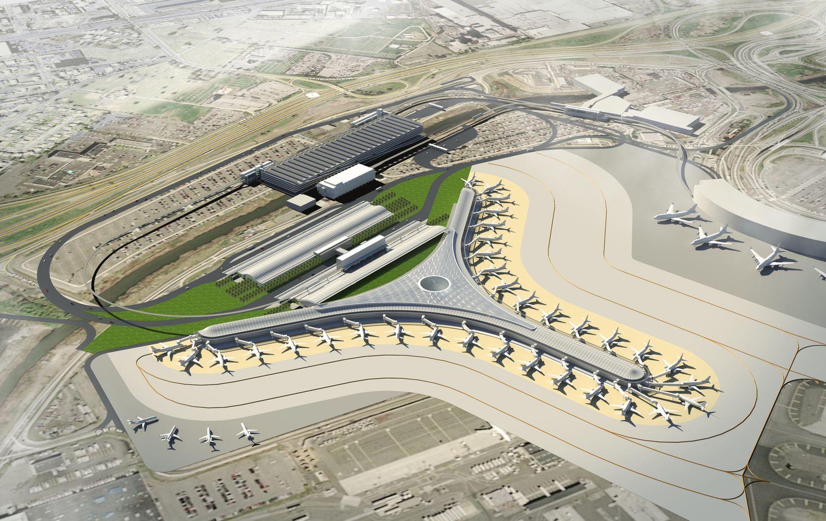 Proposal For A New Terminal At Newark Liberty