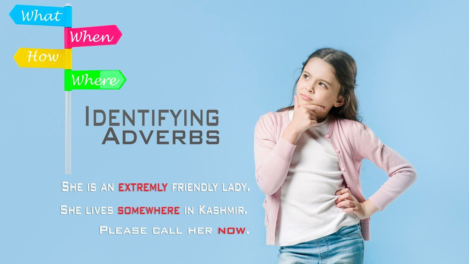 How To Identify Adverbs In A Sentence