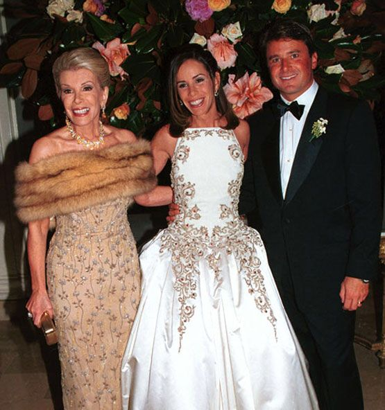 JOAN RIVERS WEARING RUSSIAN SABLE AT DAUGHTER MELISSA\' S FAIRY ...