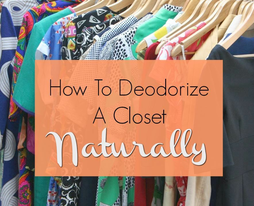 Best Ways to Deodorize a Closet Naturally | Get rid of ...