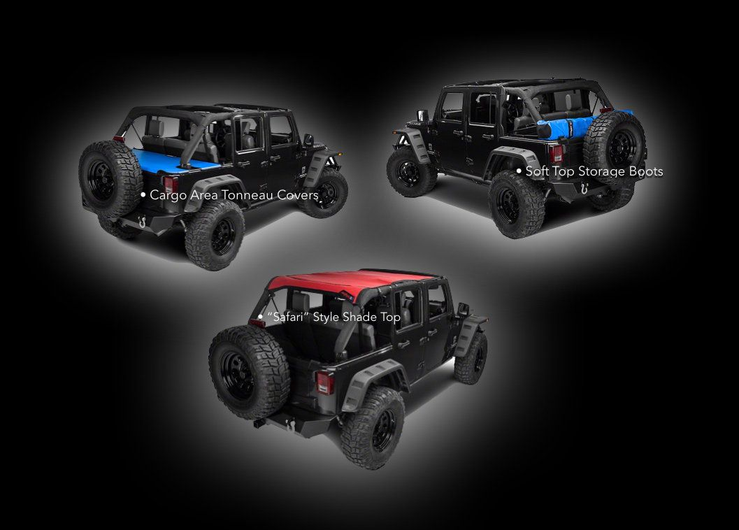 Custom Jeep Wrangler Accessories And Shade Tops Jtops Usa