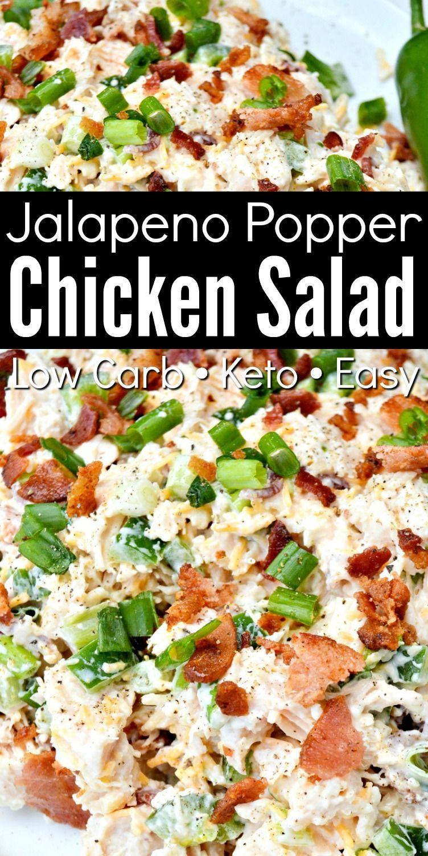 Photo of #recipes Jalapeno Popper Chicken Salad – recipes