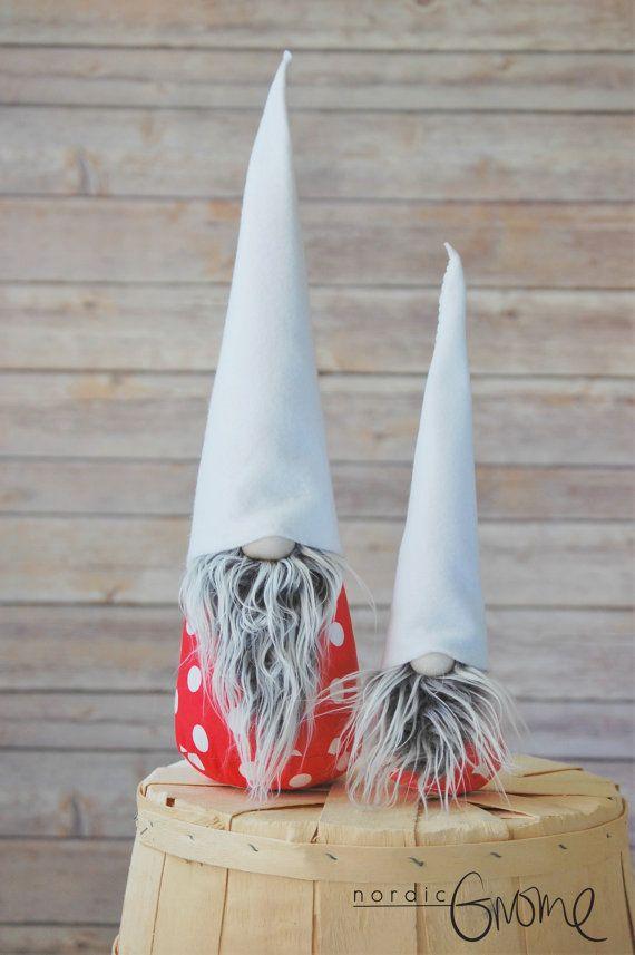 Christmas Gnome, Scandinavian Gnome Pair