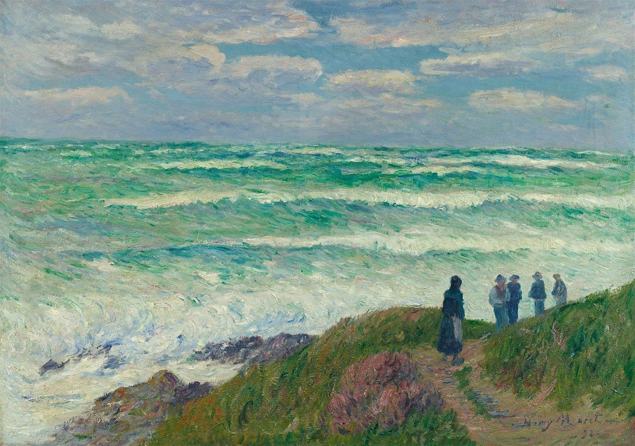 Henry Moret (French, 1856-1913), Gros temps [Rough Weather], 1898. i 2020