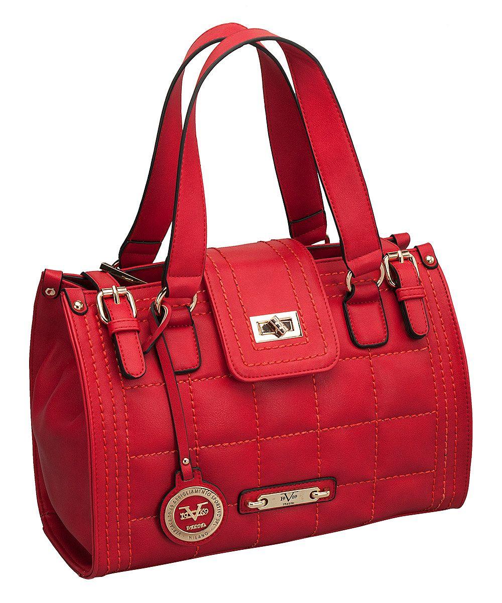 Versace Sophie Quilted Designer Satchel - $102.99 | Bags, Purses ...
