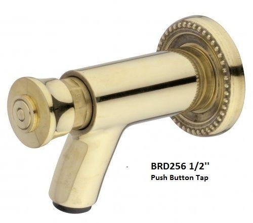 Push Button Brass Tap