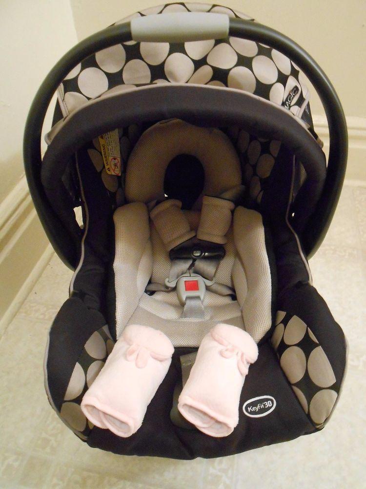 Chicco Keyfit 30 MAGIC Infant Car Seat Black Gray No Base JAN 2020