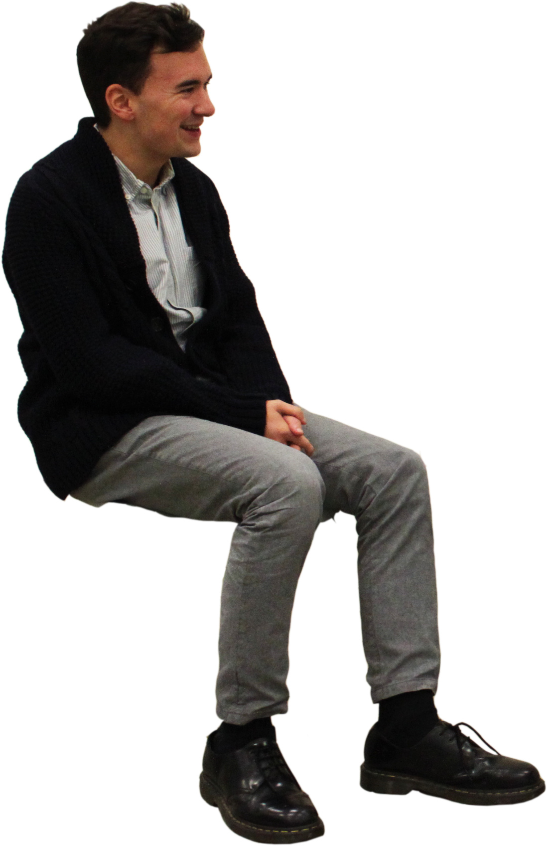 Sitting Man Png Image People Cutout People Sitting Png People Png
