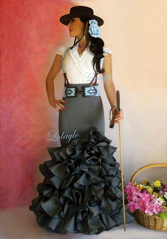 Faldas LolayloTrajes Dancer SevillanaGypsy Flamenca De En Y vmN8nw0