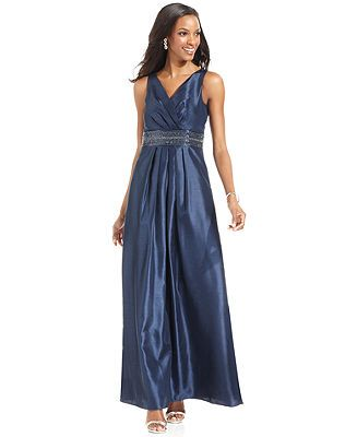 Js Boutique Dress Sleeveless Beaded Gown Mother Of The Bride