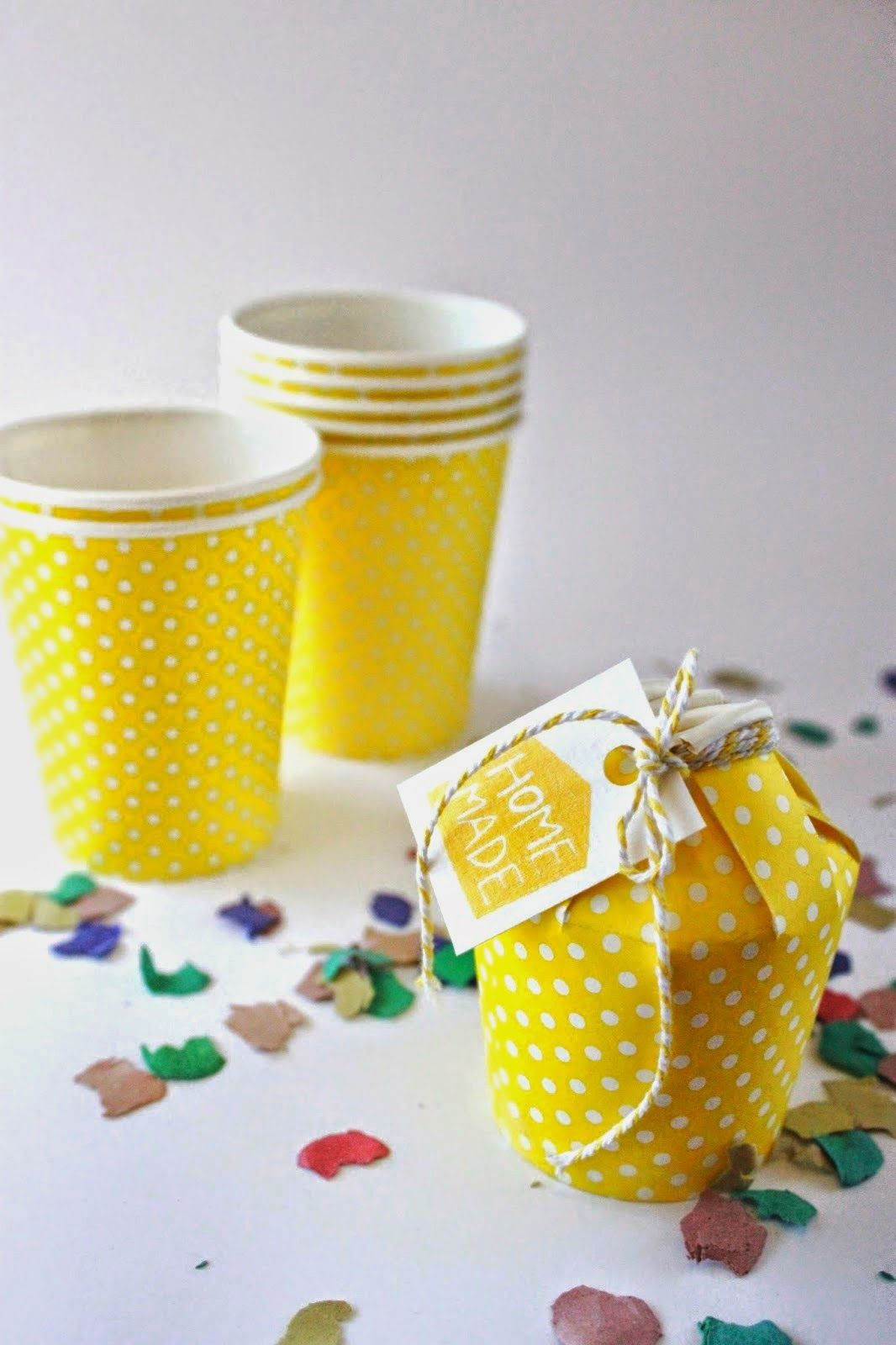 Diy cajita con vasito de papel diy do it yourself - Golosinas para cumpleanos de ninos ...