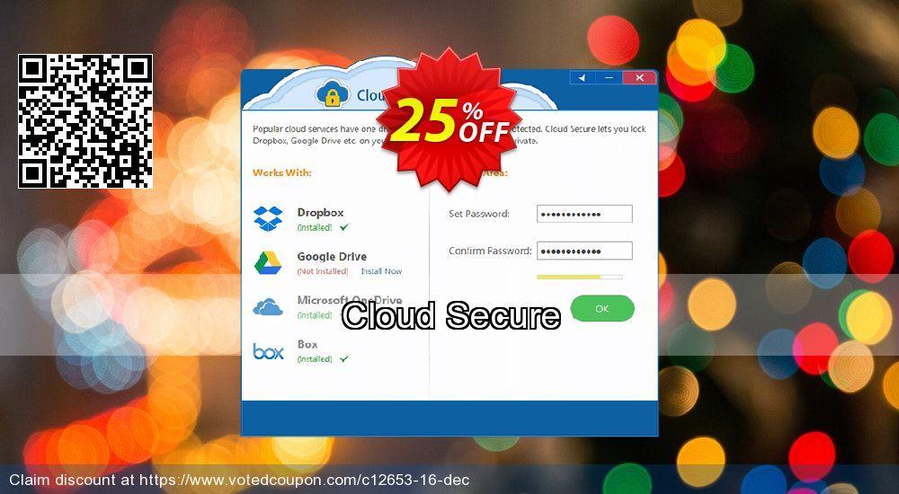 Cloud Secure Coupon 26 Discount Code Winter Promotion Dec 2019 Coupon Codes Coupons December
