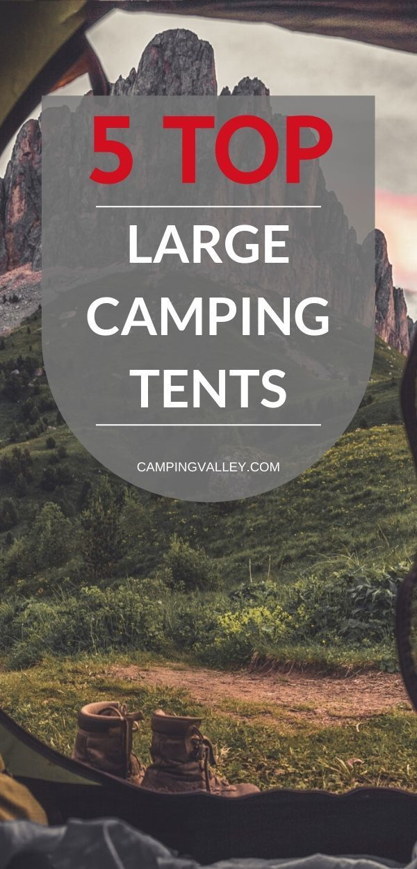Photo of Best Large Tents
