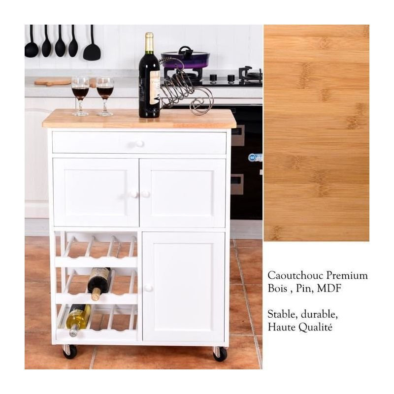 Chariot De Cuisine A Roulettes Desserte De Cuisine Chariot De Service 796914894476 Home Decor Kitchen Cart Furniture