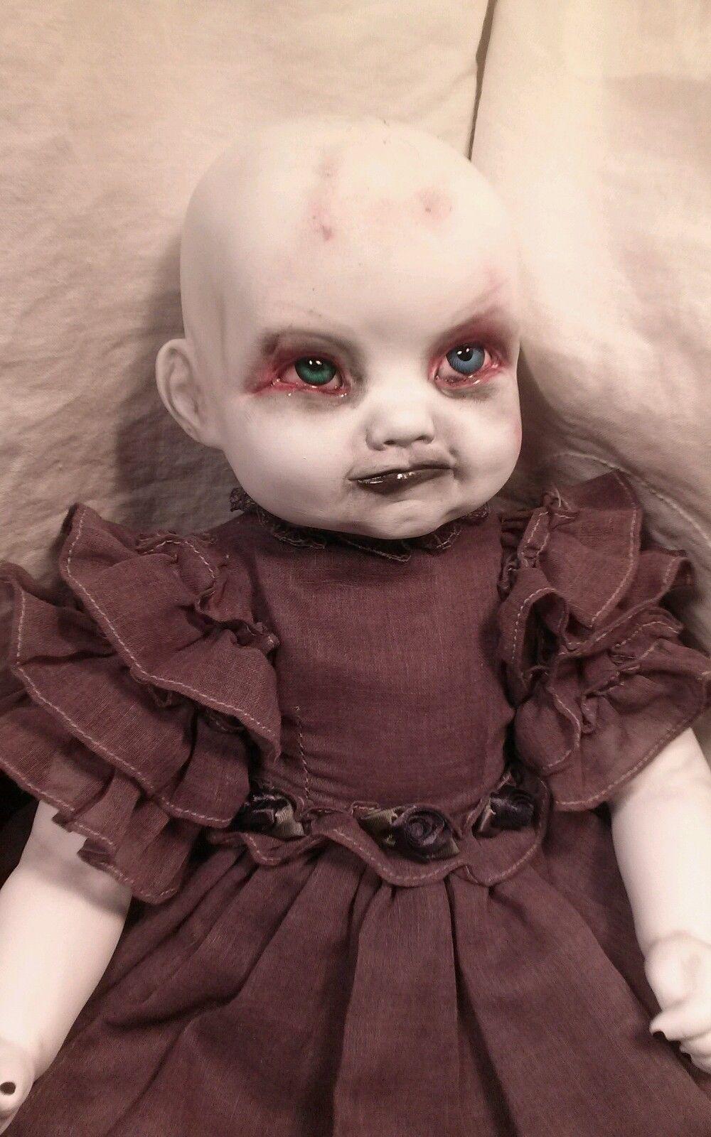 babe creepy ooak horror baby doll in 2018 | ooak zombie babies