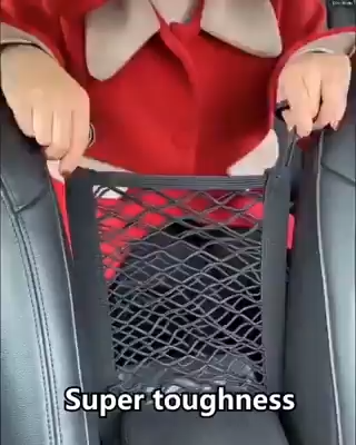 Photo of Universal Elastic Mesh Net trunk Bag