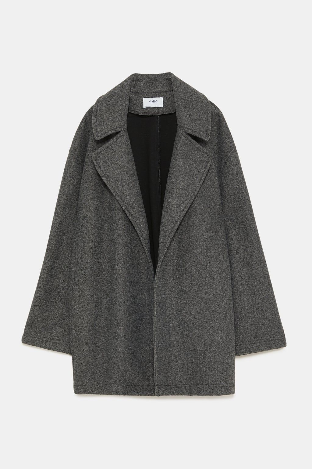 Image 8 of WIDE LAPEL COAT from Zara Zara cf65b2c159