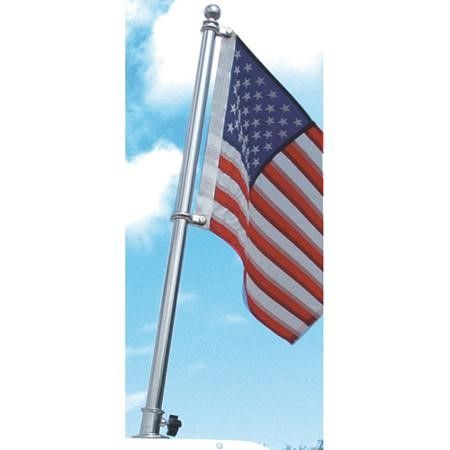 Taylor Stainless Steel Flag Pole 1 Diameter Silver Flag Pole Kits Flag Pole Boat Flags