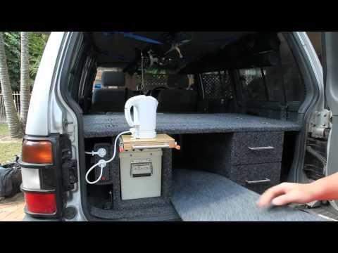 Elegant Rear Cargo Storage Unit For Pajero / Prado   Part 3   YouTube