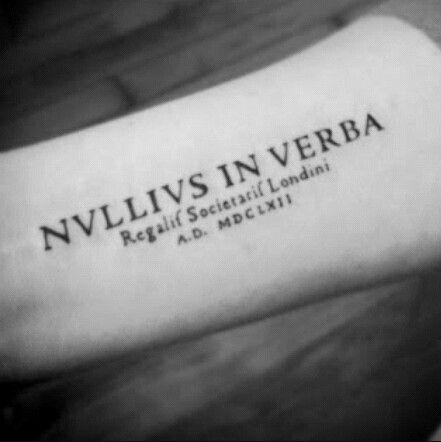 Nullius in verba