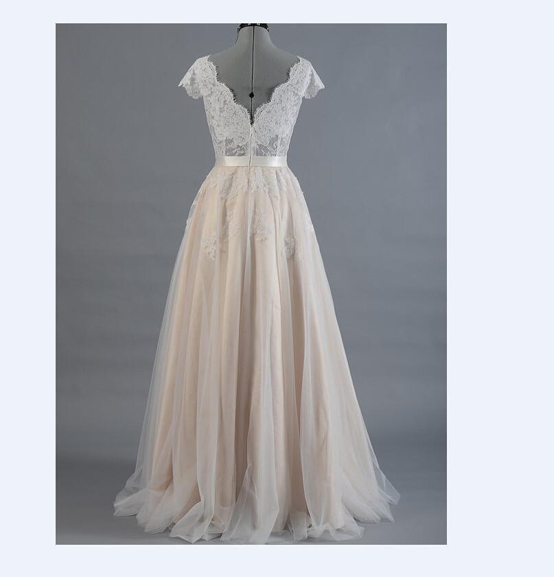 Boho Wedding Dress - Bohemian Wedding Dress - Lace Wedding ...