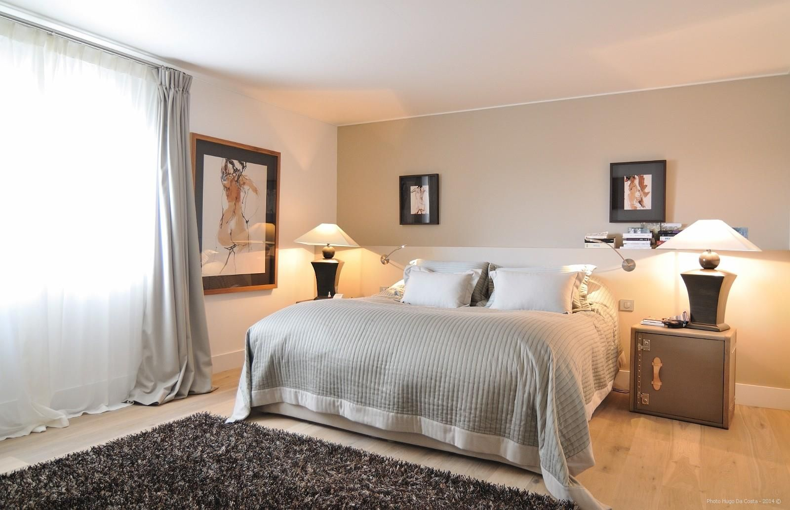 Chambre style lodge africain standing deco maison pinterest