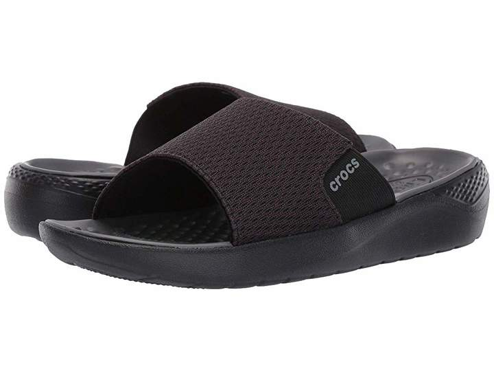 Choose SZ//Color Crocs Men/'s LiteRide Mesh Slide Sandal